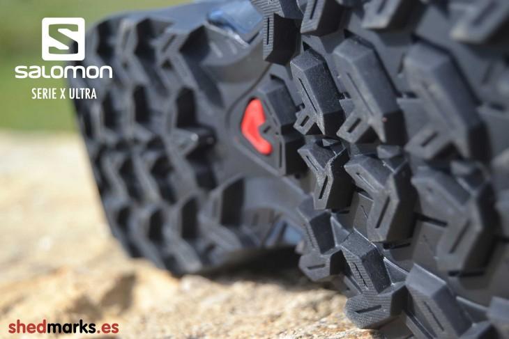 Zapatillas trekking Salomon X Ultra 2 GTX con suela Contagrip