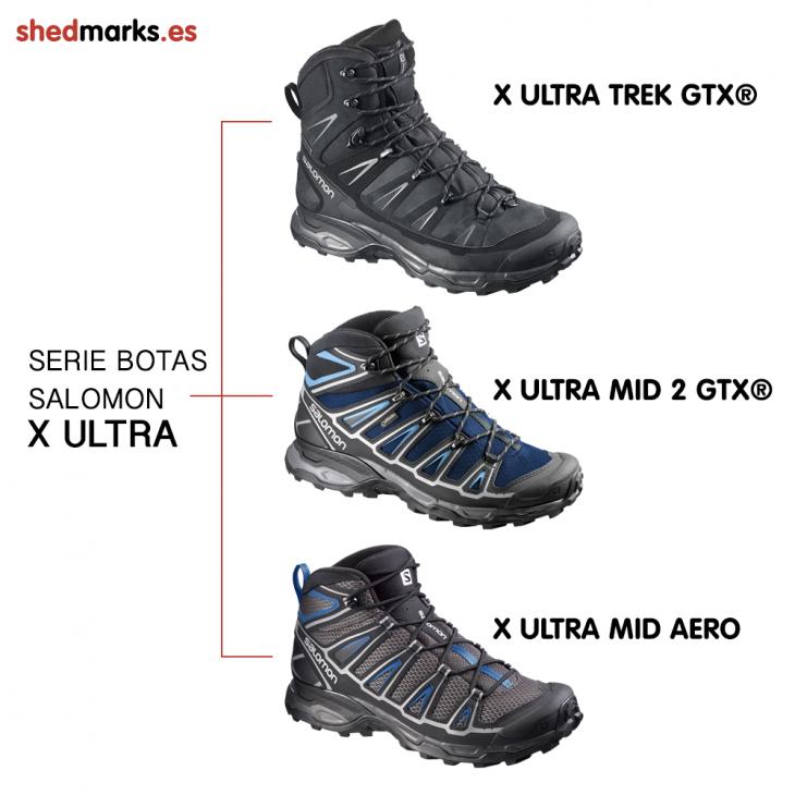 Botas Salomon Serie X Ultra