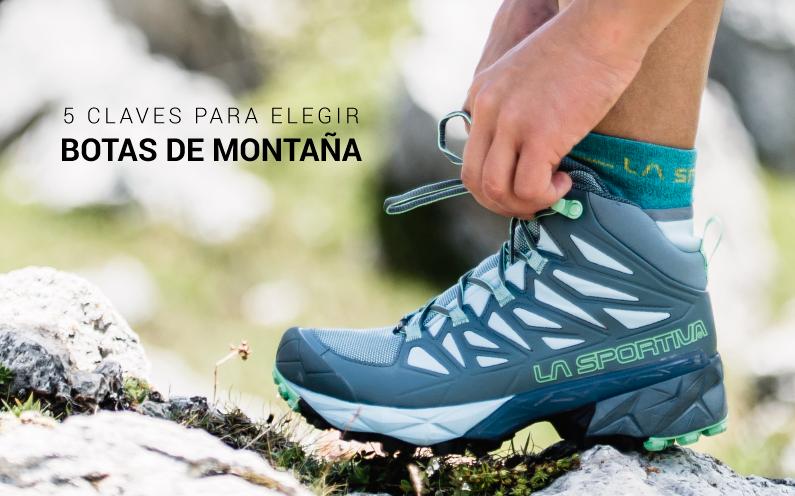 5 claves para elegir unas botas de trekking