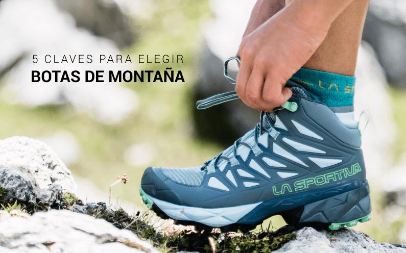 Claves para elegir unas botas de montaña, trekking o senderismo