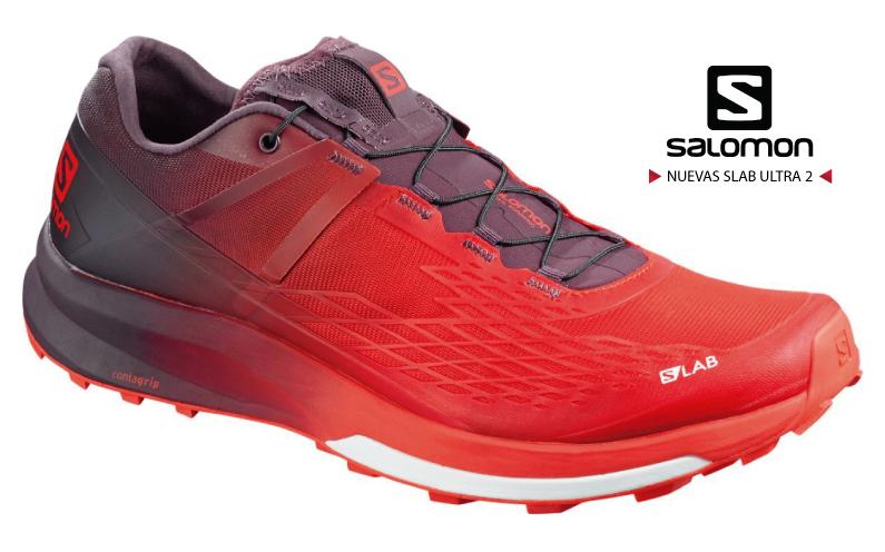 Salomon SLab Ultra 2: nueva versión de zapatillas de trail running