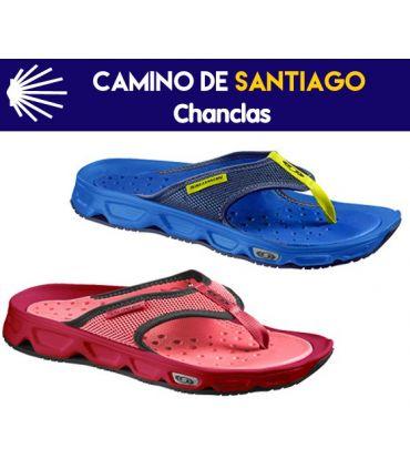 CHANCLAS PARA EL CAMINO DE SANTIAGO