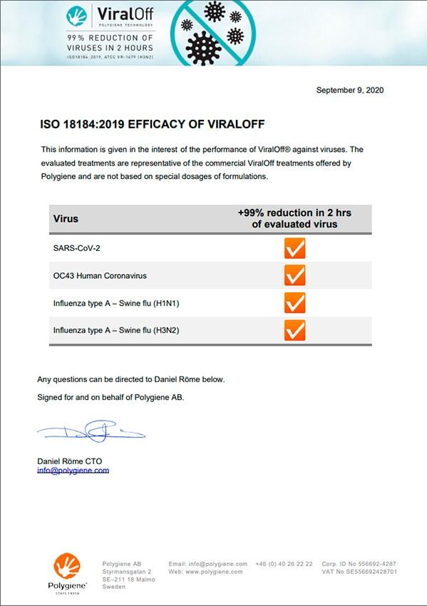 Normas ISO Mascarillas Ternua Airgill