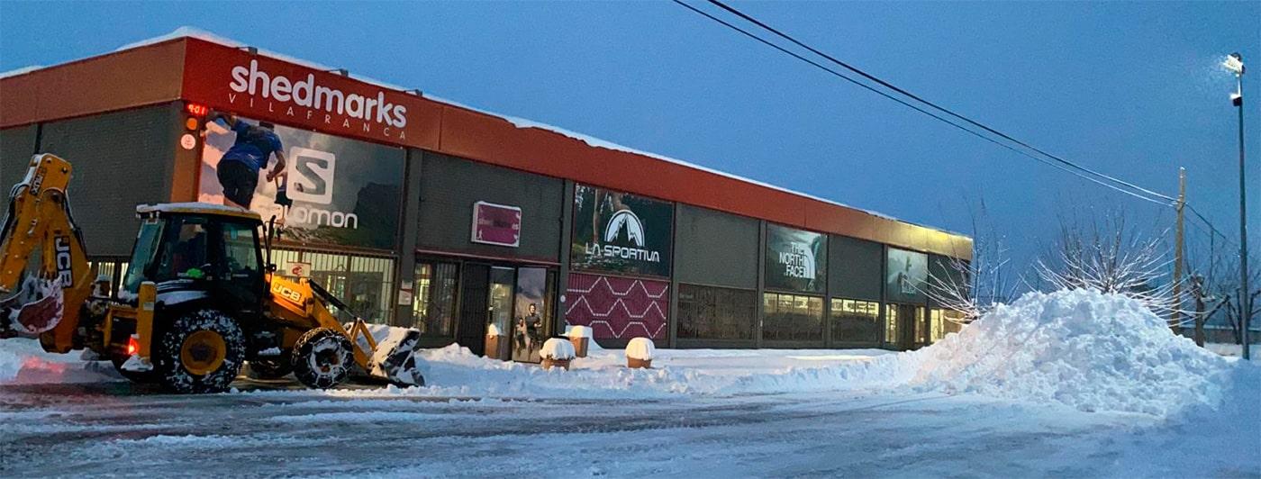 Horario Shedmarks tienda online de montaña.